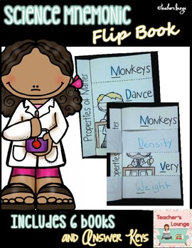 Science Mnemonic Flip Book Pages