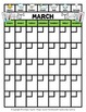 Science - Monthly Weather Calendar - Sunday to Saturday - Science/Math