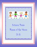 Science Moon Phases Poem (K-5)
