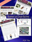 Science - Movement PDF File - Simple Machines 36 Pages