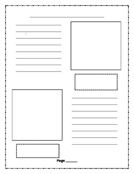 Science - My Animal Report Template - Non-fiction Writing