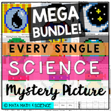 8th Grade Science STAAR Review - Science Mystery Pictures MEGA BUNDLE!