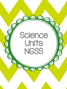 Science NGSS Binder Cover