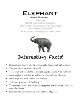 Science: Next Generation - Zoo Animal Facts