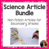 Science Nonfiction Article Bundle