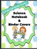 Science Skills Notebook Organization Set- 135 Binder Covers/Dividers