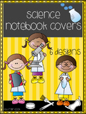 Interactive Science Notebook Cover ... 6 Different Designs!