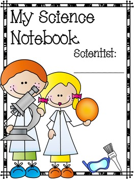 My Science Notebook by A Dab of Glue Will Do | Teachers ... |Human Studies Science Notebook Cover