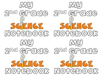 Science Notebook Cover Coloring Pages