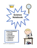 Science Notebook Cover Page -Boy