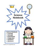 Science Notebook Cover Page -Girl