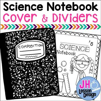 Science Notebook Cover and Dividers