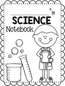Notebook Covers | Notebook covers, Literacy activities ... |Human Studies Science Notebook Cover