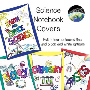 Science Notebook / Folder / File  Covers