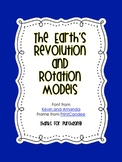 {Science Notebook} - Earth's Rotation and Revolution
