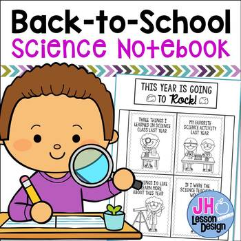 Back to School:Science Interactive Notebook Activity