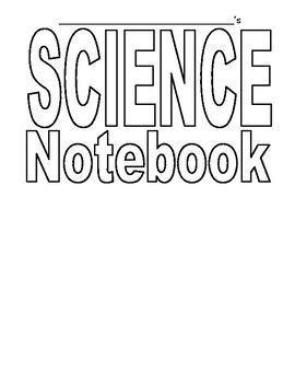 Science Notebook Grade 2 Life Science Unit