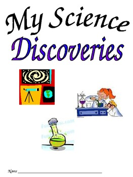 Science Notebook Journal for Elementary School Lab Reports