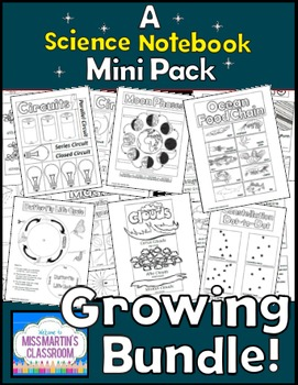 Science Interactive Notebooks - Growing Bundle