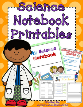 Science Notebook Printables * Can Be Used With Any Topic*