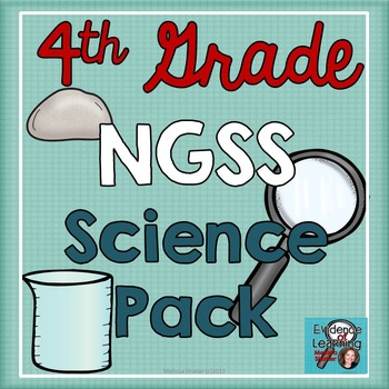 Science Notebook Printables and Activities Superpack- Fourth Grade