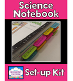 Science Interactive Notebook Set-up Kit