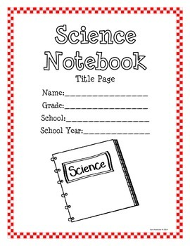 Science Journal and Interactive Notebook Templates