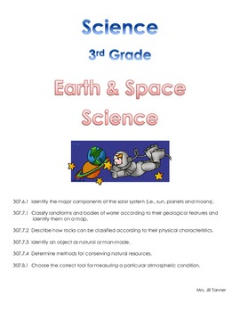 Science Notebook: Tennessee State Standards Grade 3