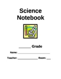 Science Notebook/Binder Cover Page