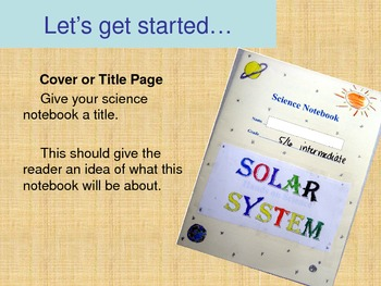 Science Notebooking Introduction Power Point