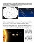 Science Notes: Revolution/Rotation, Seasons, Solar System,