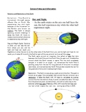 Science Notes:Rotation/Revolution, Day/Night, Stars, Galax