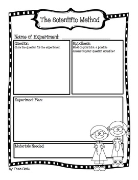 Science Observation Journal ... For Any Experiment