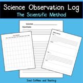 Science Observation Log - Scientific Method Booklet