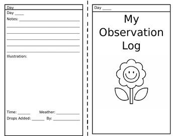 Science Observation Log