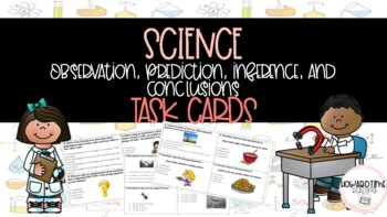 Science: Observation, prediction, inference, and conclusio