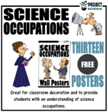 Science Occupations Wall Posters