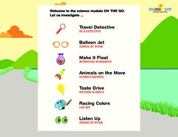 On The Go, science activities