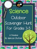 Science Outdoor Scavenger Hunt