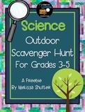 Science Outdoor Scavenger Hunt