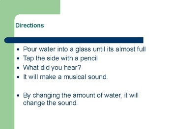 Science PPT- All About Sounds