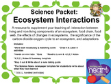 Science Packet: Ecosystem Interactions