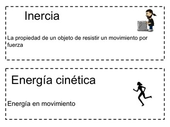 Science Packet: Force IN SPANISH Paquete de Ciencias: Fuerzas