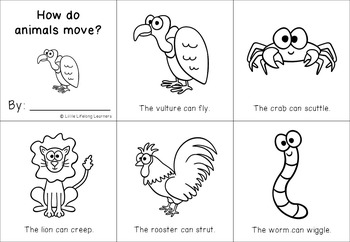 Science Packet - How do animals move?