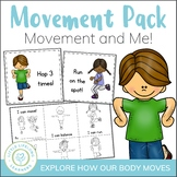 Movement and Me Activities - Foundation Science Packet