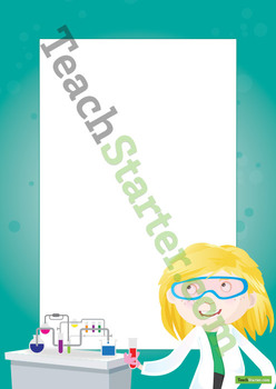 Science Page Border