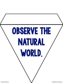 Science Pennant Banner