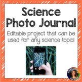 Science Photo Journal Project- Distance Learning