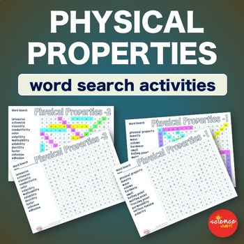 Science * Physical Properties * WordSearch * Vocabulary * Warm Up * Bell Ringer