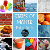 States of Matter Science Picture Sorts - TEKS 2.5A, 3.5B,